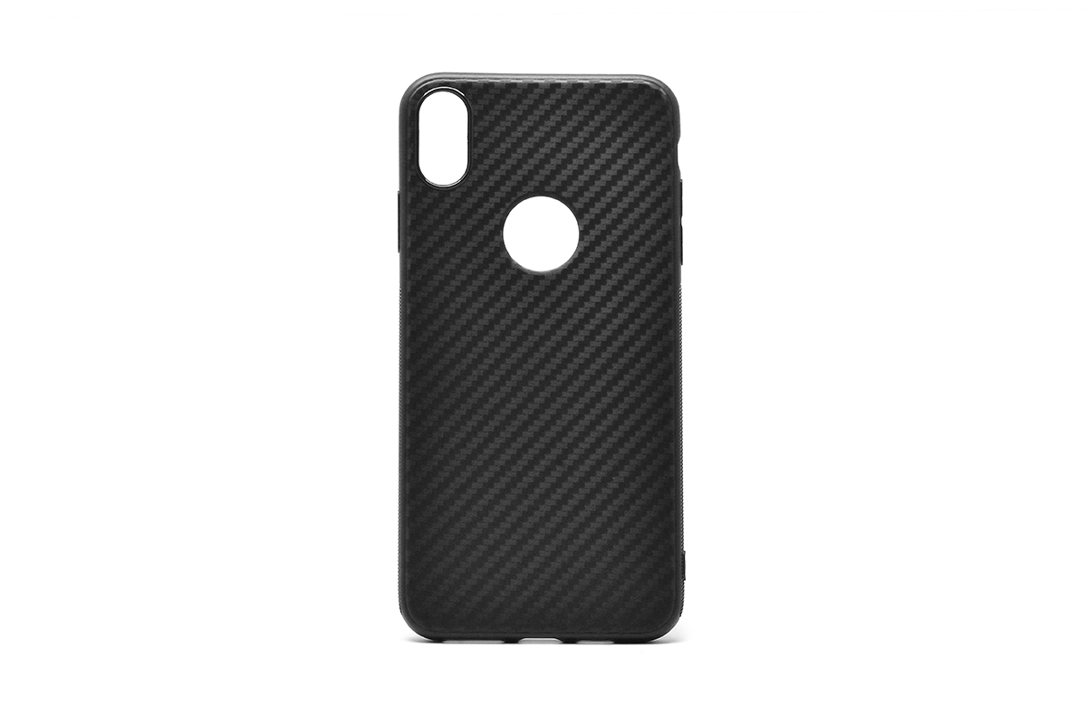 Tpu carbon 0,3mm honor 8a/y6 2019 (black)